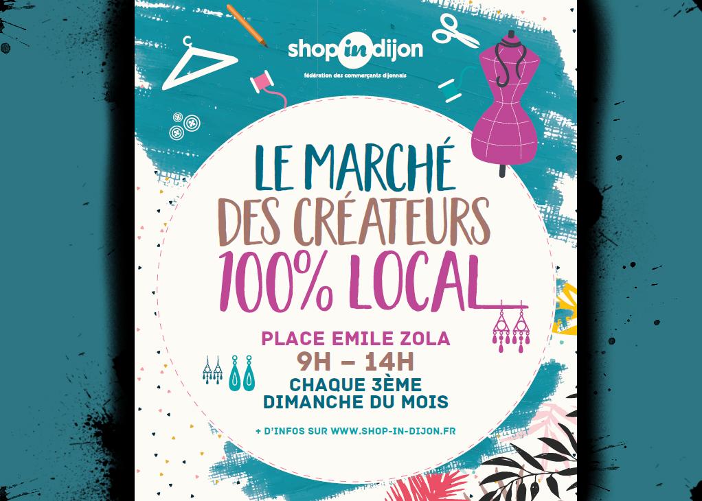 Le marché des créateurs Dijon Lafarfadet Elodie Vasseur